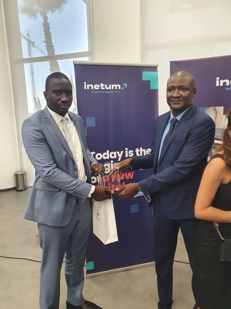 Digital : Birame Ngom de la CSS et Dr Codé Diop de l'Ipres primés à Casablanca.