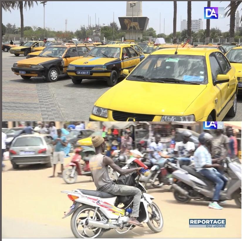 Circulation routière à Dakar : Pourquoi  « Thiak Thiak » et taximen n'arrivent pas à s'entendre.