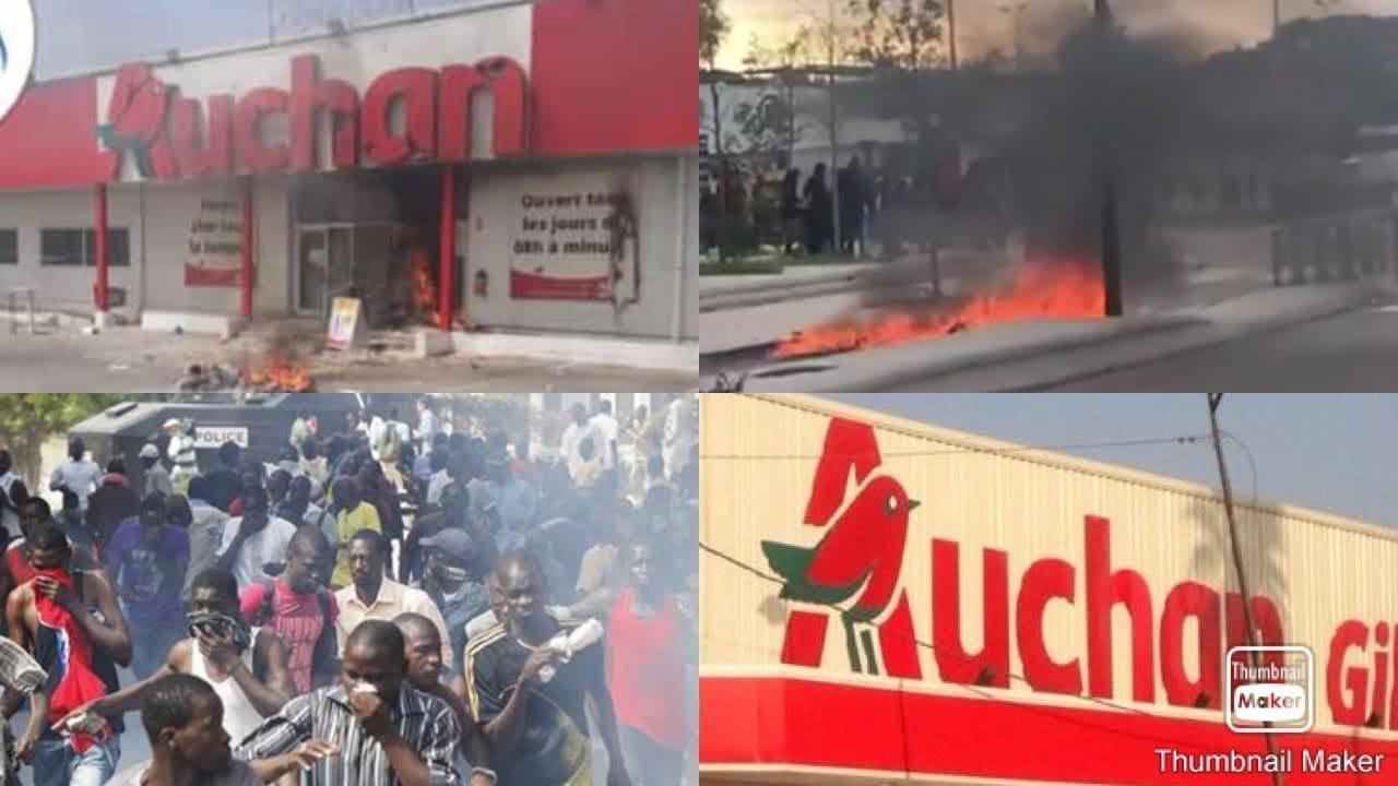 Émeutes de mars : des pertes estimées à plus de 7, 2 milliards pour Auchan qui annonce un montant supérieur.