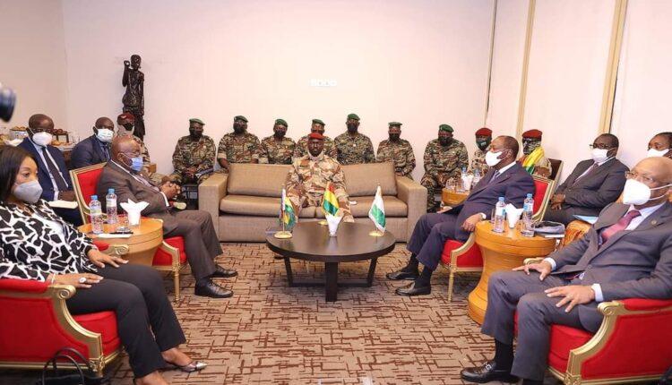 Nana Akufo Addo, président du Ghana : « La Guinée et la CEDEAO trouveront un moyen de marcher ensemble »
