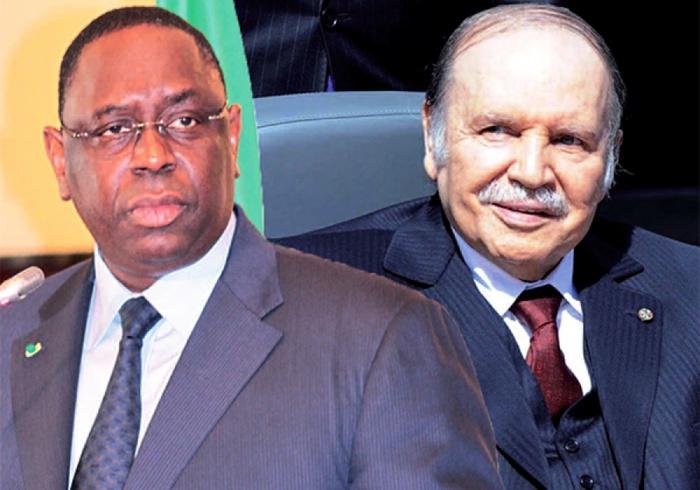 Décès de Abdel Aziz Bouteflika : Le président Macky Sall salue la mémoire d'un grand dirigeant Africain