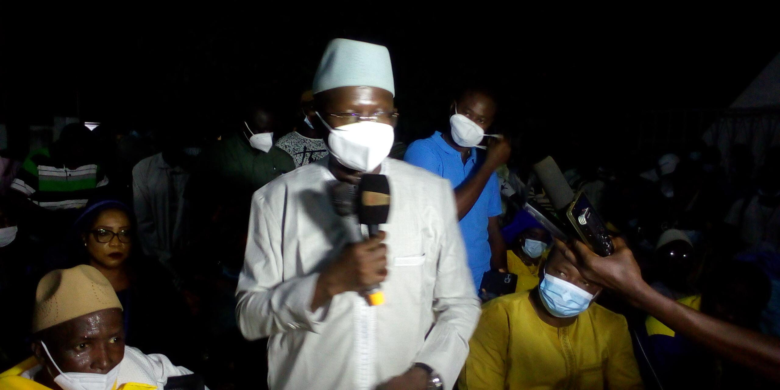 KOLDA : L'appel de Modou Diagne Fada (SG Ldr/Yessal) à la classe politique locale.