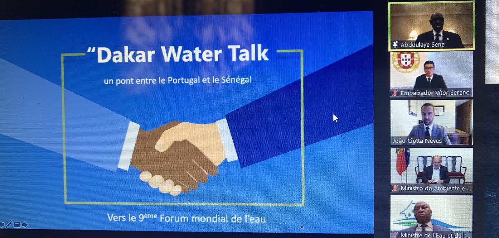 9ème forum mondial de l'eau : Vers le renforcement de la coopération bilatérale entre le Sénégal et le Portugal.