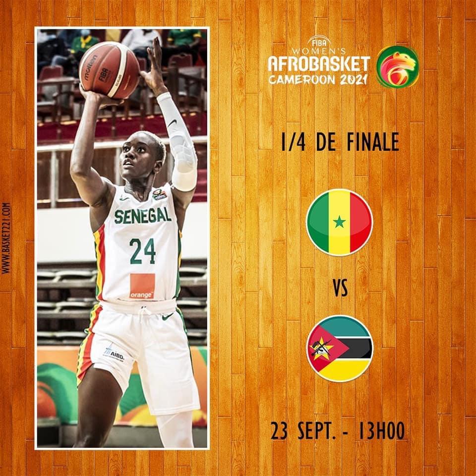 Afrobasket féminin 2021 : Les Lionnes retrouvent le Mozambique en quart de finale ce jeudi…