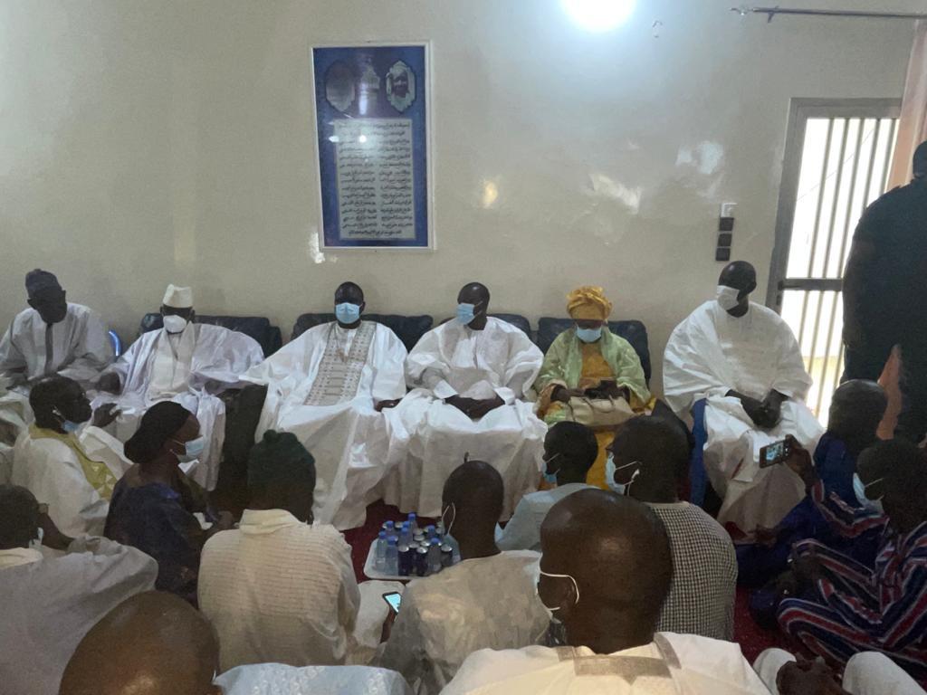 Touba : La délégation de la coalition Yewwi Askan Wi est arrivée à dans la ville sainte.