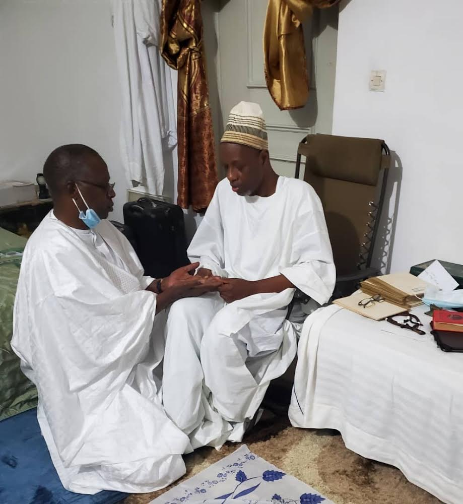 MAGAL TOUBA 2021 / Mahammad Boun Abdallah Dionne reçu par le Khalife Général des Mourides et par plusieurs autres chefs religieux.