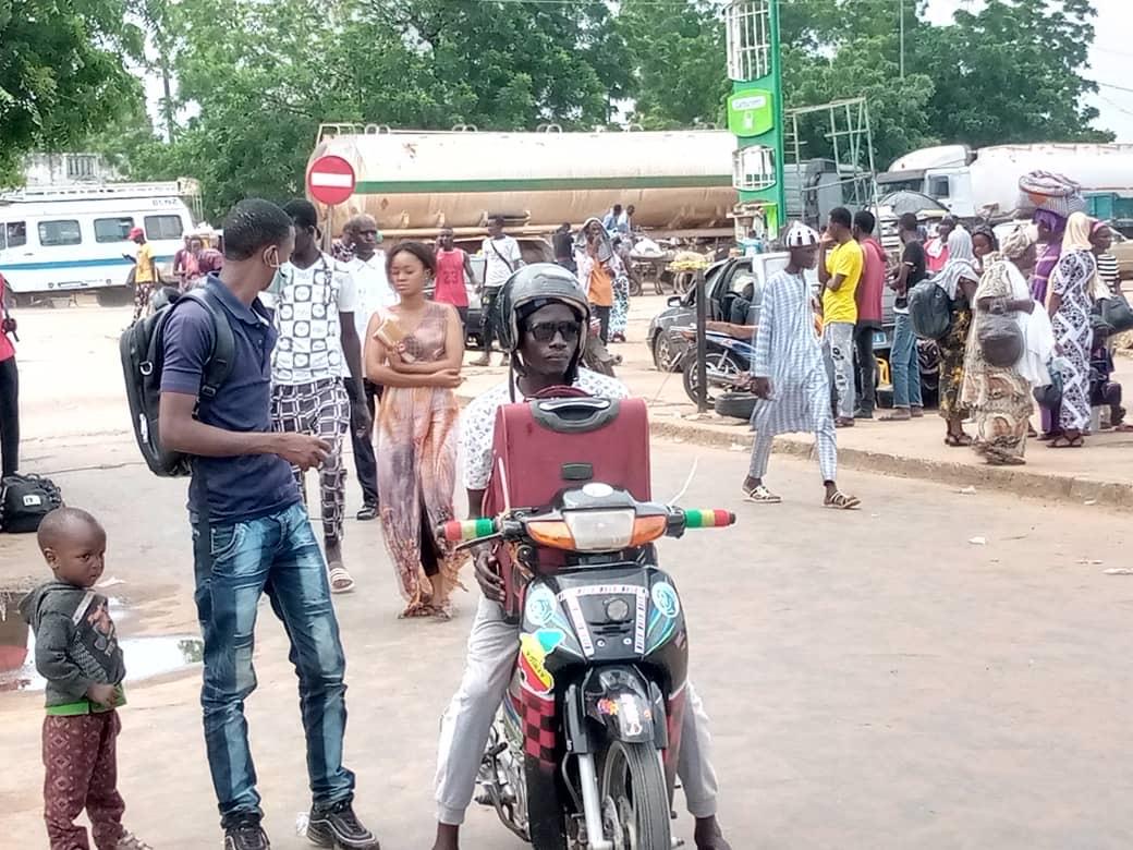 Magal 2021 : Les Kaffrinois rallient la ville sainte de Touba... Tous les moyens de transport mobilisés pour les besoins de l'événement (images).