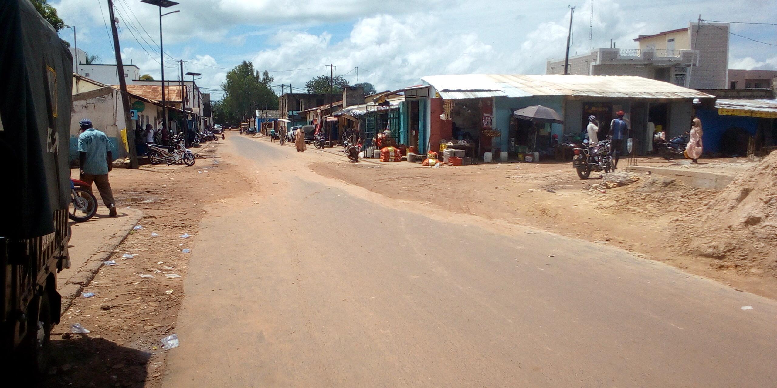 MAGAL 2021 : ruelles vides, activités au ralenti, boutiques fermées à Kolda.