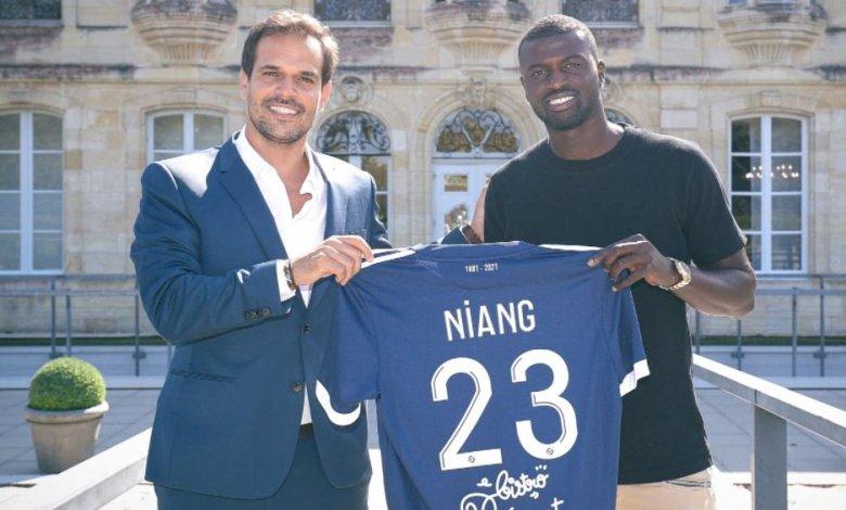 Mercato : l'attaquant sénégalais Mbaye Niang (26 ans) décline sa mission à Bordeaux.