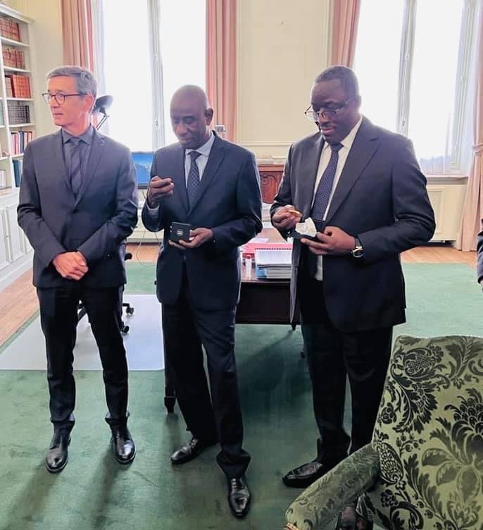 Ouverture de classes prepa 2021-2022 : le Sénégal envoie une mission d'imprégnation à Paris.