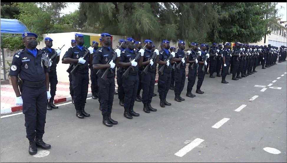 MINUSCA / Les 180 gendarmes en partance pour la Centrafrique ont reçu les consignes du général Daouda Diop