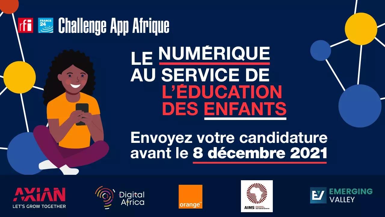 Challenge App Afrique : le numérique au service de l'éducation des enfants.