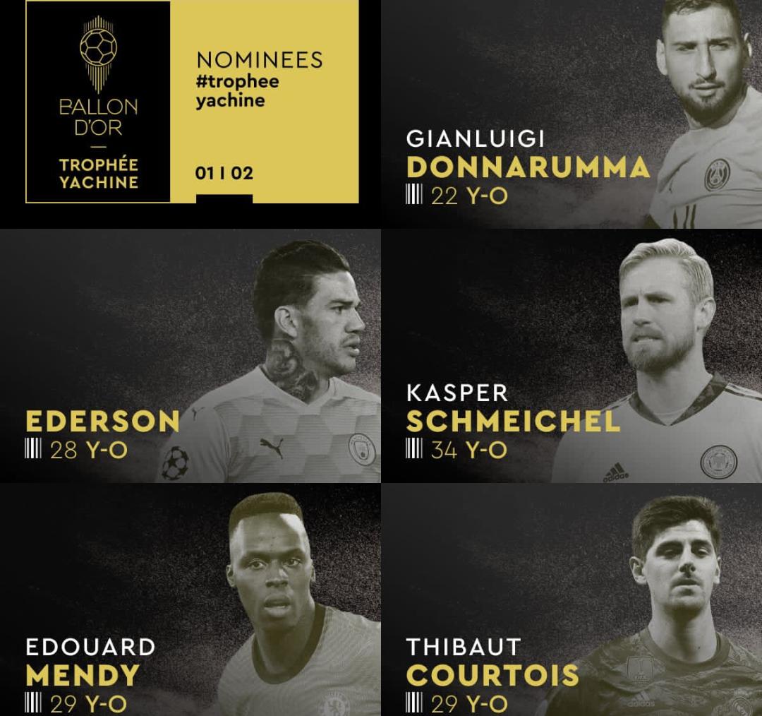 Ballon d'or européen 2021 : Édouard Mendy en lice pour le titre de meilleur gardien.