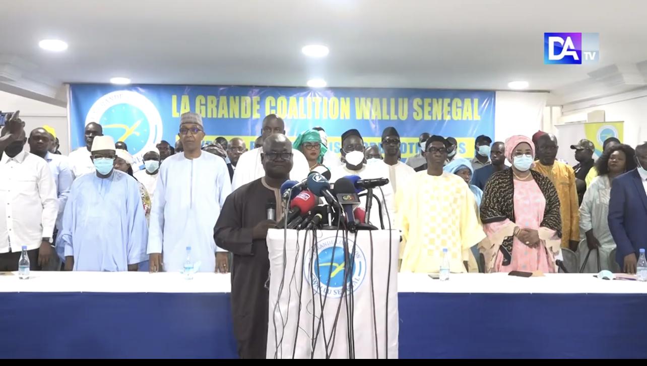 Lancement officiel de sa coalition : Wallu Senegal se défoule sur le régime du Président Macky Sall. (Déclaration)