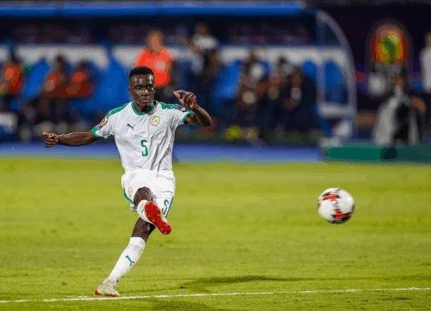 SÉNÉGAL - NAMIBIE : Gana Guèye ouvre le score à la 10e pour les Lions.