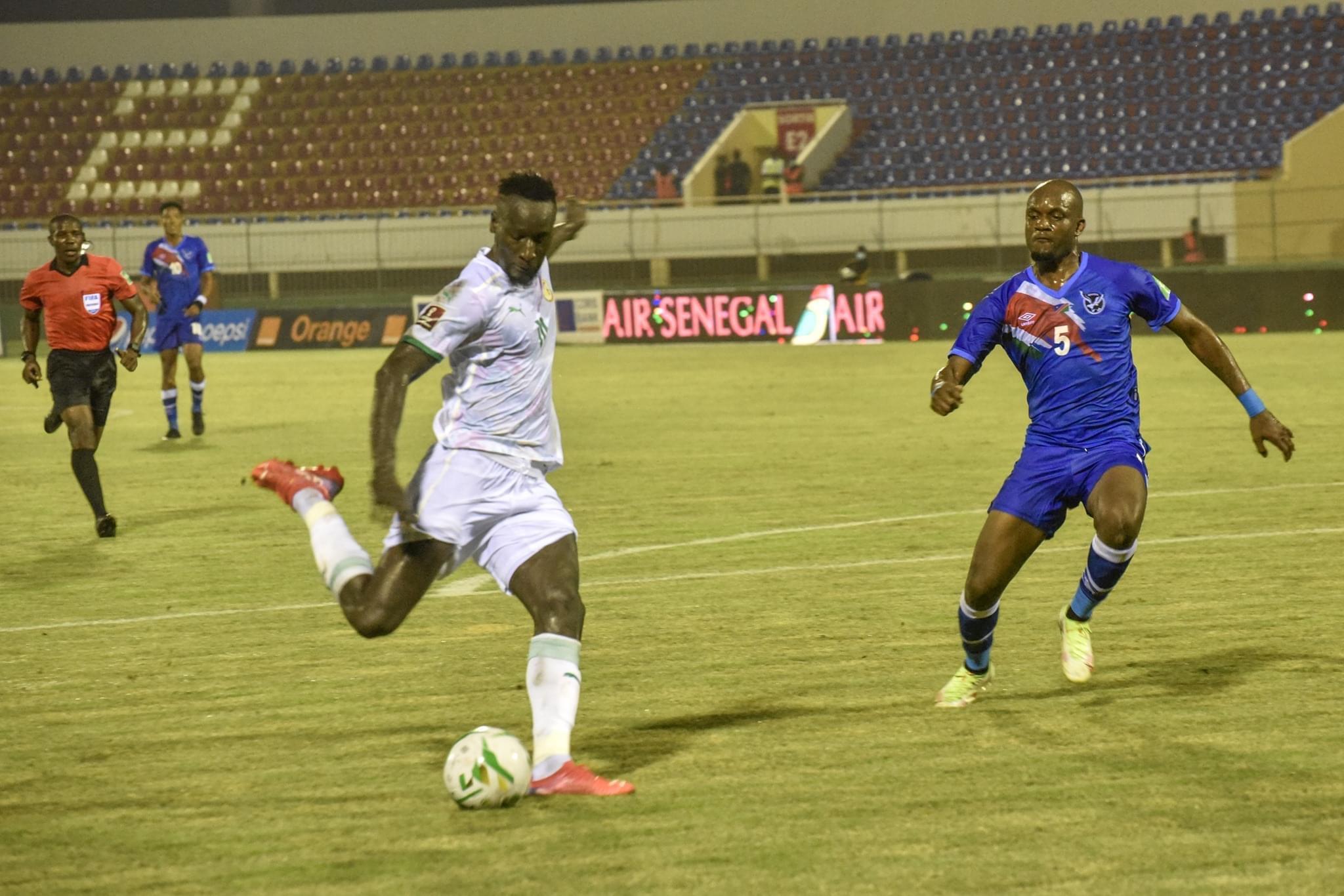 SÉNÉGAL - NAMIBIE : Les Lions doublent la mise par Famara Diédhiou.