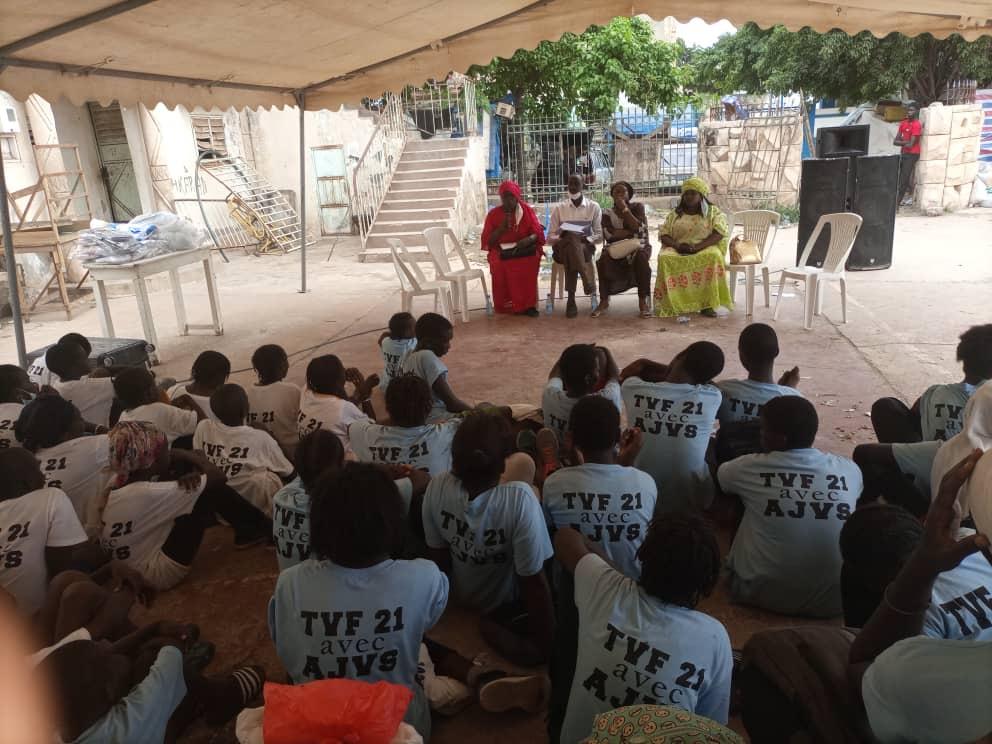 Rufisque : L'association des jeunes volleyeurs du Sénégal (AJVS) fait de l'éducation des filles une priorité.
