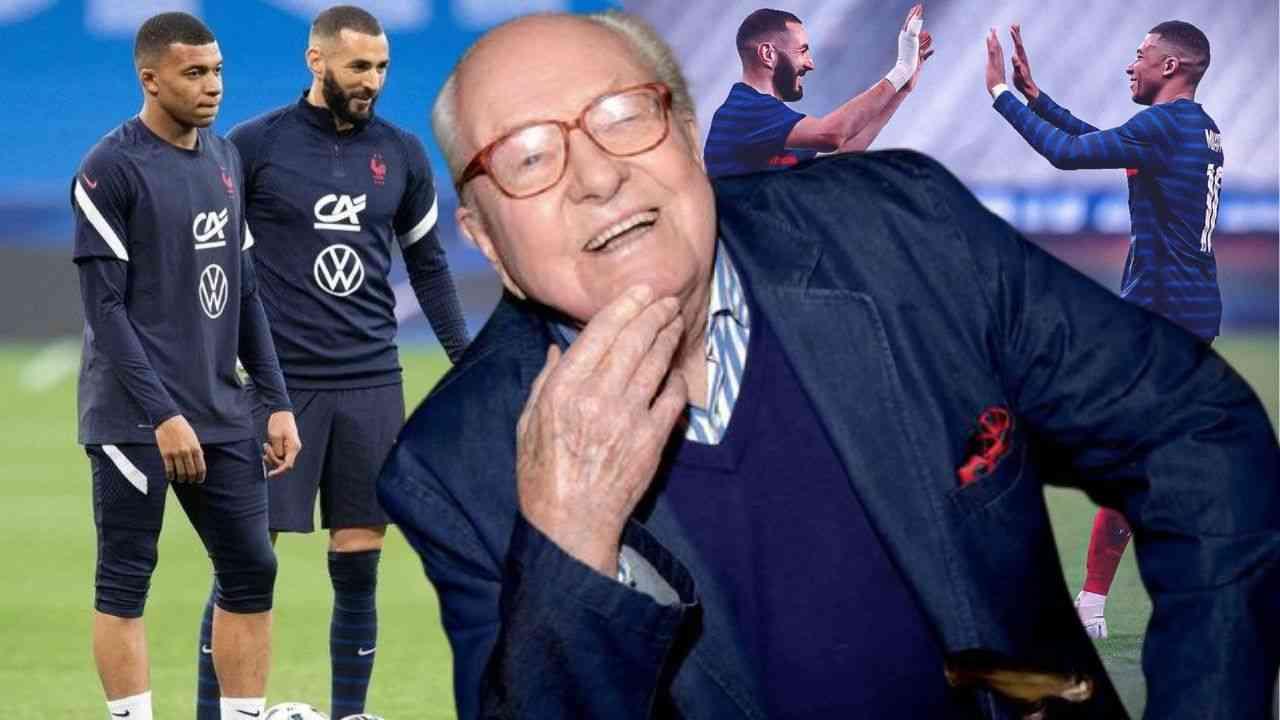 France : Le message de félicitations de Jean-Marie Le Pen à Benzema et Mbappé, qui enflamme la toile...
