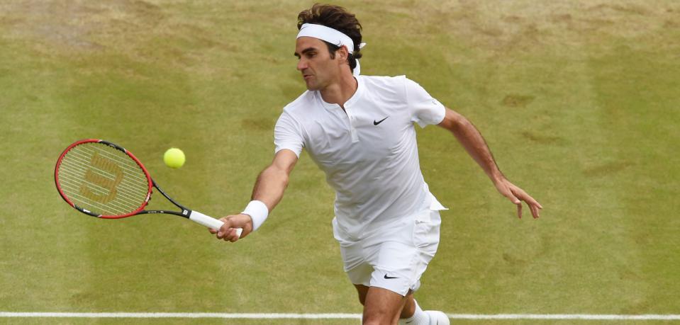 Wimbledon : Simon n'a rien pu faire face à Federer
