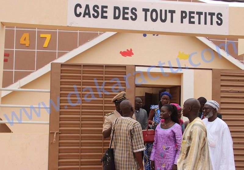 Case des tout-petits : En visite de chantier à Taw Fekh, Diakhao et Gamboul, Thérèse Faye s'estime satisfaite de l'évolution des travaux