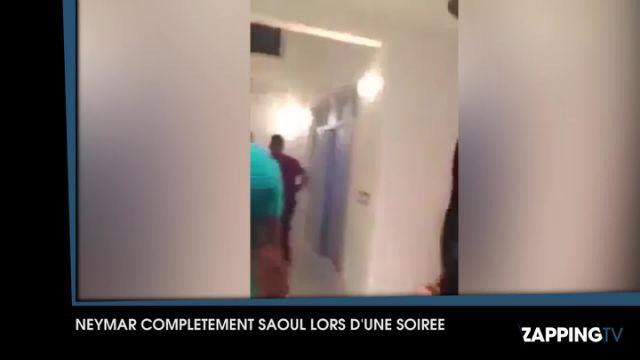 Neymar complètement ivre lors d'une soirée dans sa villa : la vidéo qui fait le buzz !