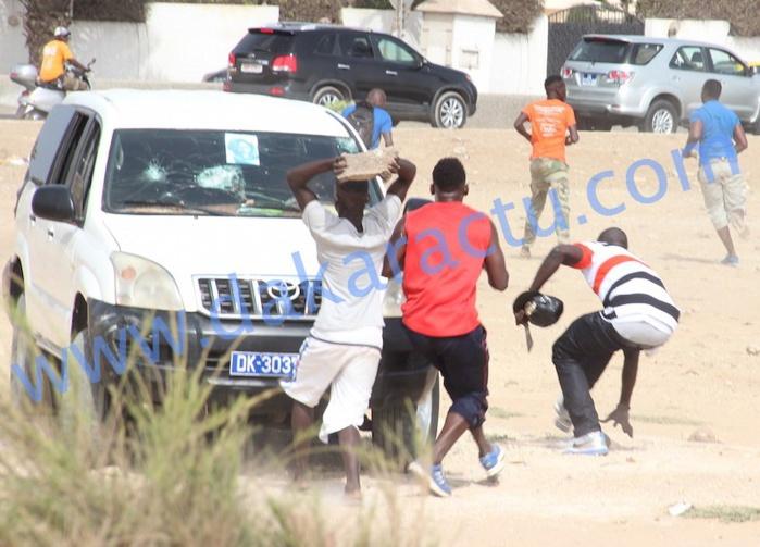 Pour avoir caillassé la voiture de Gouye-Gui : Des proches d'Ama Baldé arrêtés