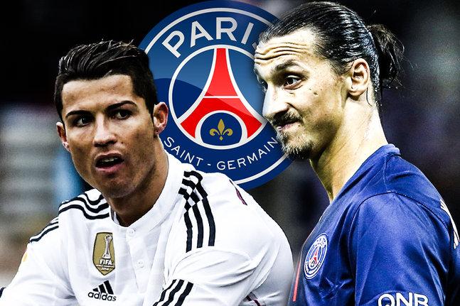 Ronaldo ne veut pas jouer avec Ibrahimovic