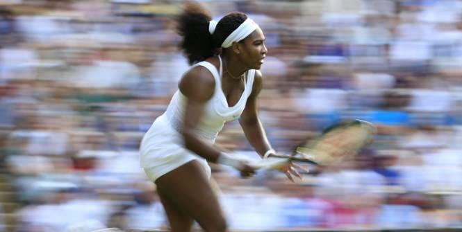 Wimbledon: Le tournoi de Serena Williams en chiffres