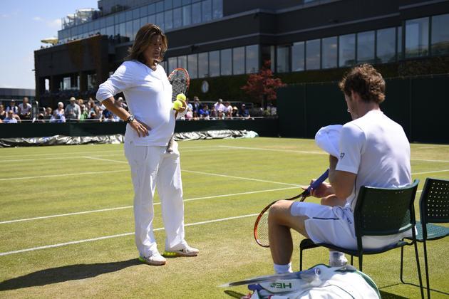 Wimbledon 2015 - Amélie Mauresmo, une grossesse sur les courts