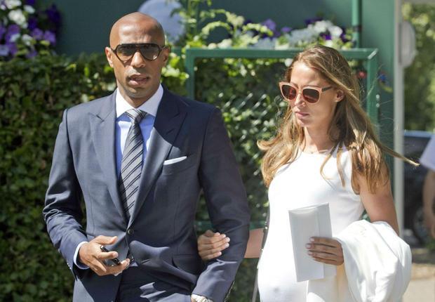 Thierry Henry bientôt papa pour la 3ème fois