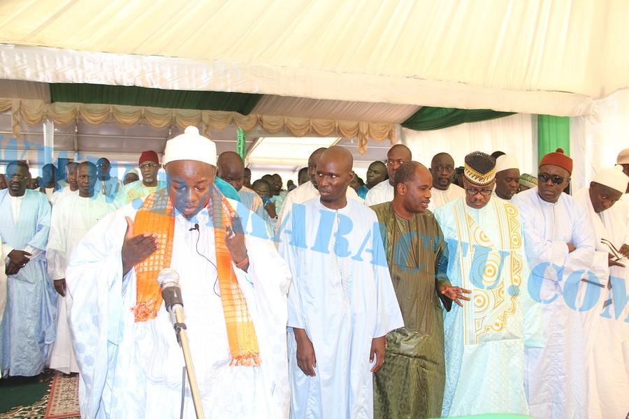 Les images de la célébration de l'Aïd El Fitr à la mosquée Mazalikoul Jinane