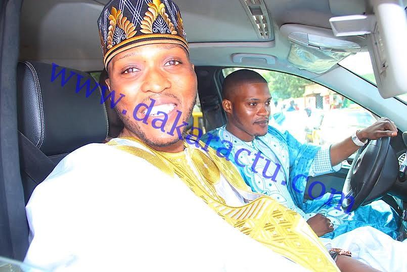 Aid El Fitr : Allé et Massamba Niang, les fils de Me Madické Niang étaient à la mosquée Mazalikoul Jinnan