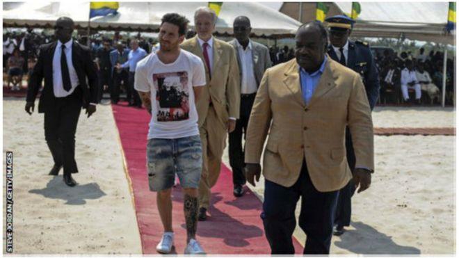 MESSI au Gabon : Une visite rémunérée à  2 milliards F Cfa