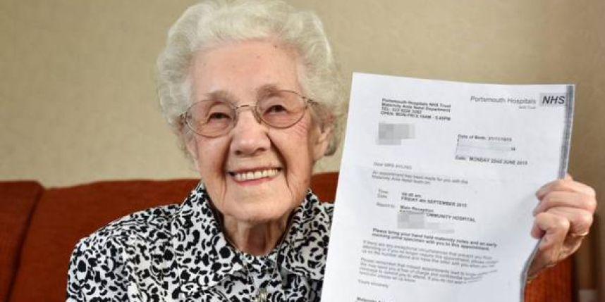A 99 ans, l'hôpital lui annonce qu'elle est enceinte