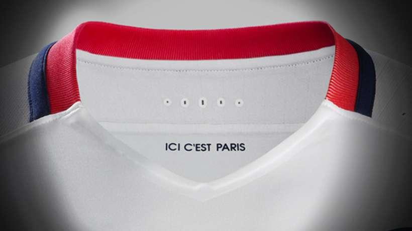 Le PSG dévoile son nouveau maillot extérieur !