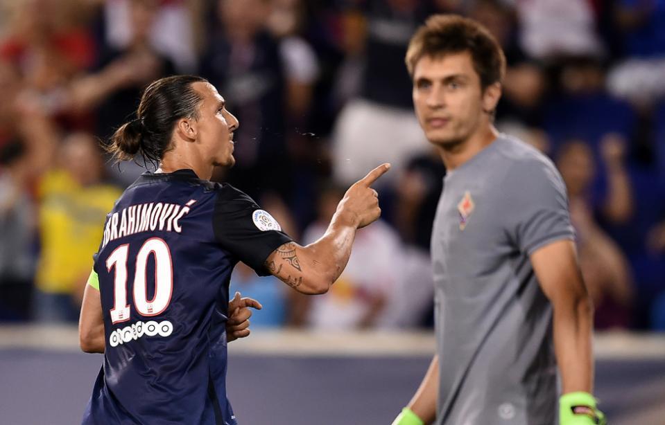 PSG: Zlatan Ibrahimovic veut «jouer aux Etats-Unis, absolument»