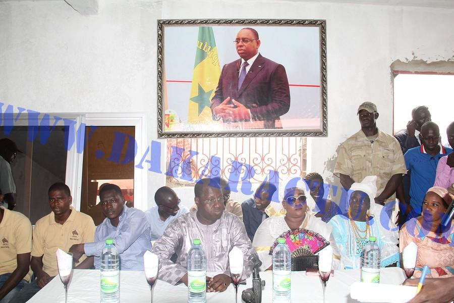 Apr/M'bao : Abdou Karim Sall compte unir la base pour la réélection de Macky Sall ( Images )