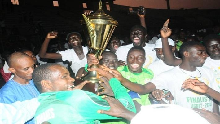 L'As Douanes sacrée championne du Sénégal