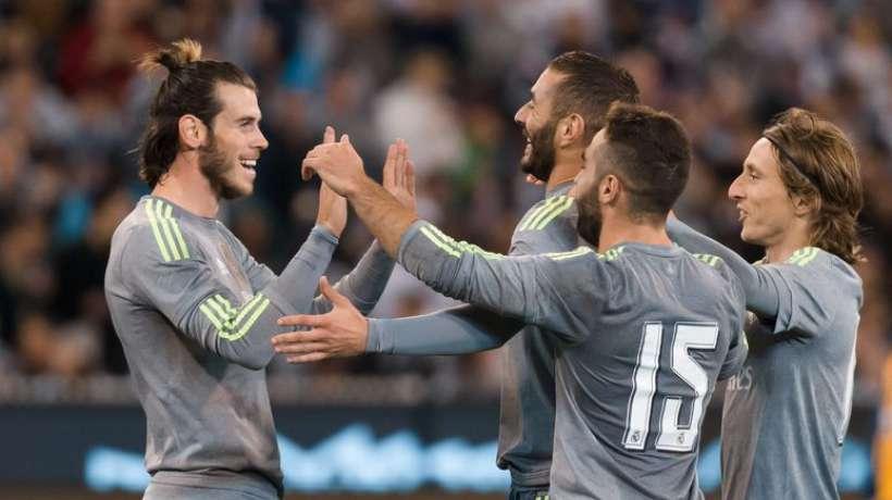 FOOTBALL : le Real Madrid ne fait qu'une bouchée de l'Inter Milan