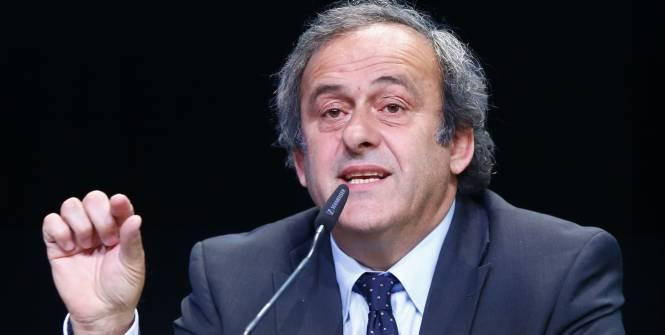 Platini officiellement candidat à la présidence de la FIFA