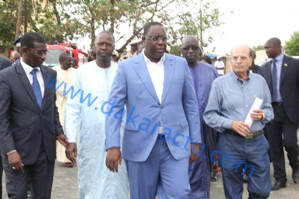 Les images de la visite du Chef de l'Etat Macky Sall à l'université Cheikh Anta Diop de Dakar