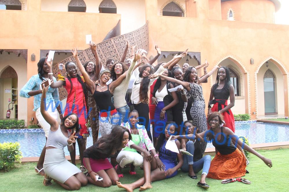 OSCARS DES VACANCES 2015 : Ouverture ce 15 août, les miss fin prêtes, sous les tenues d'Africa For Fashion ( Images )
