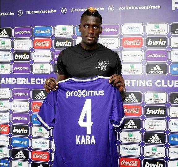 Kara Mbodj s'engage avec Anderlecht