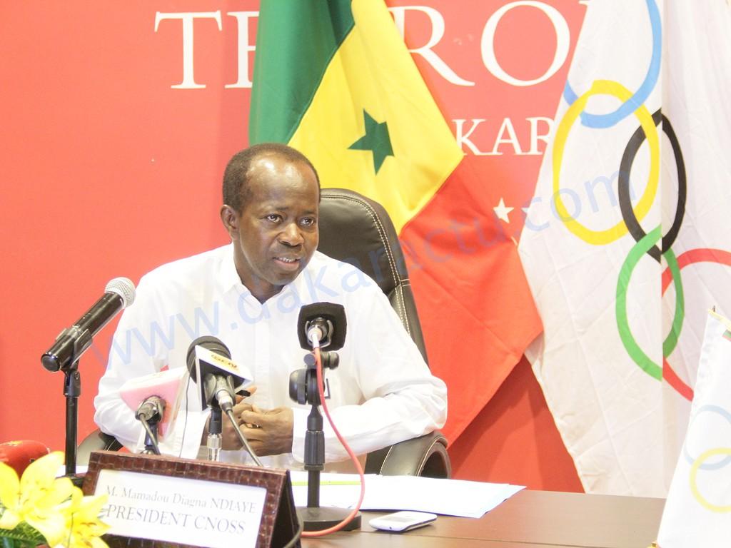 """Mamadou Diagna Ndiaye : """"Les pays africains doivent mutualiser leurs moyens pour pouvoir organiser des Jeux olympiques"""""""