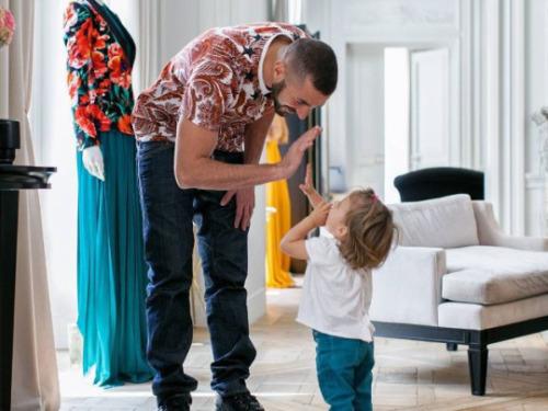 Karim Benzema : moment câlin avec sa fille Mélia