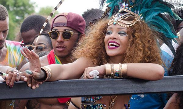 Hamilton avec Rihanna : la réaction de Wolff