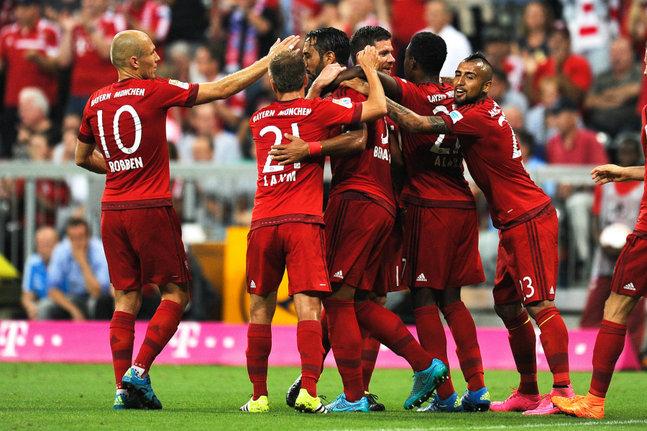 Bundesliga : Le Bayern Munich déroule d'entrée