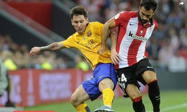 Supercoupe d'Espagne : Le Barça atomisé à Bilbao au match aller (4-0)