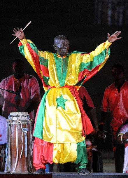 Décès du grand tambour-major Doudou N'diaye Rose