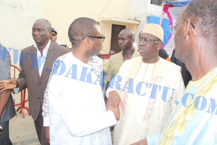 """Youssou N'dour au président Macky Sall : """"Celui qui veut accéder à Macky Sall doit passer par moi"""""""